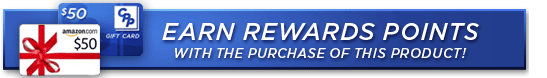 EARN REWARD POINTS WITH THE PURCHASE OF THIS PRODUCT!