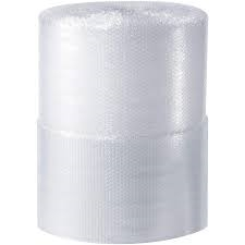 "48"" x 750' x 3/16"" Heavy Duty Industrial Grade Bubble Wrap.  Small bubble."