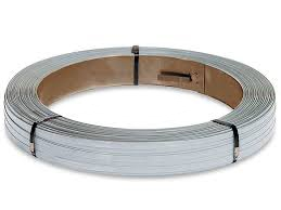 "3/4"" X .025"" Zinc Coated High Tensile Steel Strapping"