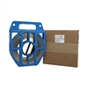 "Stainless Steel Strapping 5/8"" x .030"" x 100' type 201 in blue tote."