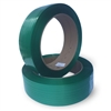 "'1/2"" x .025 x  5800' Green with Smooth Waxed Finish Polyester Strapping 16 x 6"" Core"