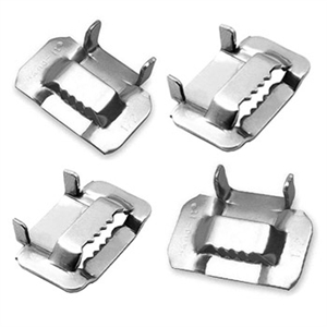 "Type 316 3/4"" Stainless Steel Strapping Buckles"