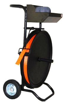 Ribbon Wound Cord Strapping Cart