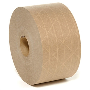 "2.83"" x 450 Feet Medium Duty Reinforced Water-Activated Tape"