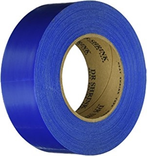 Blue 2″ x 180' Heat Shrink Tape