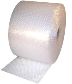 "48"" x 250' x 1/2"" Durabubble Lite Bubble Value Series Air Bubble Rolls"